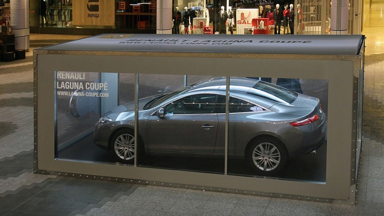 Renault Laguna Coupe GT at Westfield London