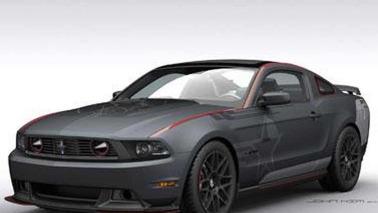SR-71 Charity Mustang by Roush & Shelby