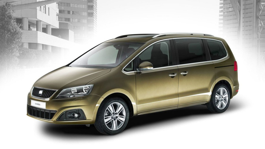All-new 2011 SEAT Alhambra MPV revealed
