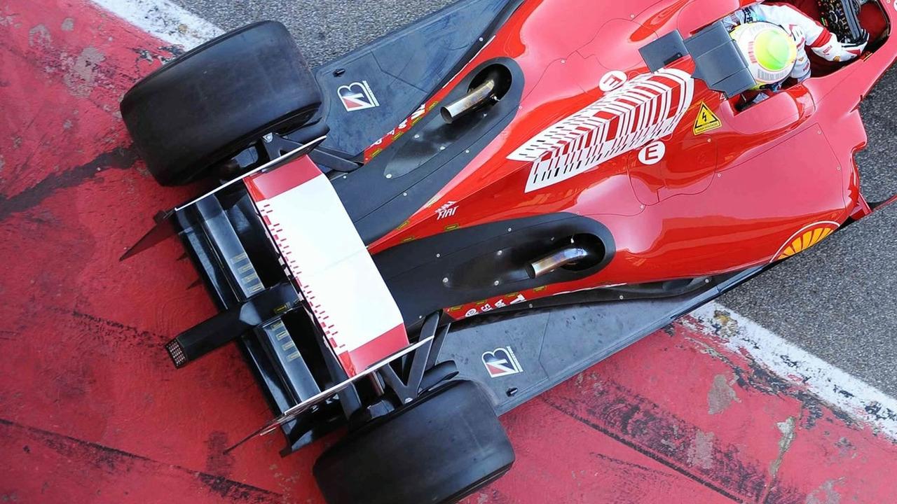 Ferrari F60s illegal rear exhaust