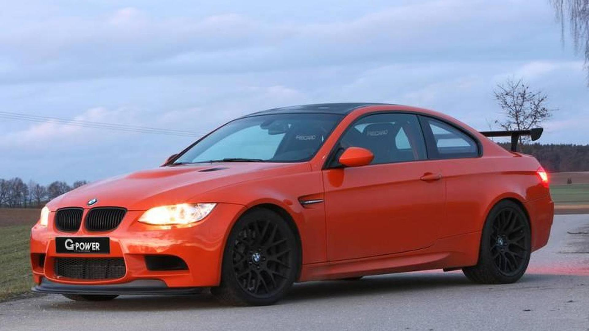 Tuner Teaser Bmw M3 Gts With Over 600 Ps By G Power