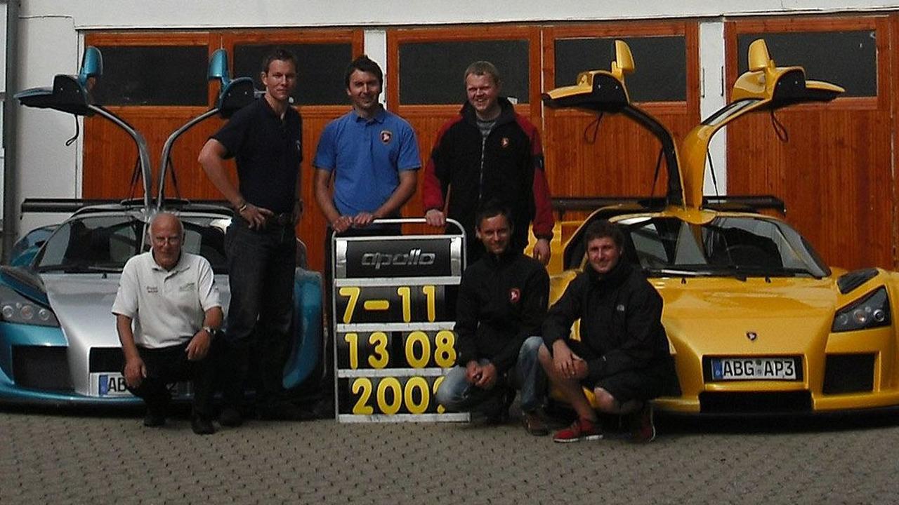 Gumpert Apollo Speed sets Nurburgring lap record