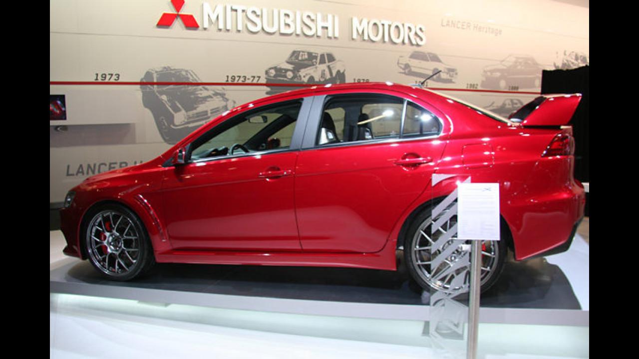 Der von Fans sehnsüchtig erwartete Mitsubishi Lancer Evo ist endlich da