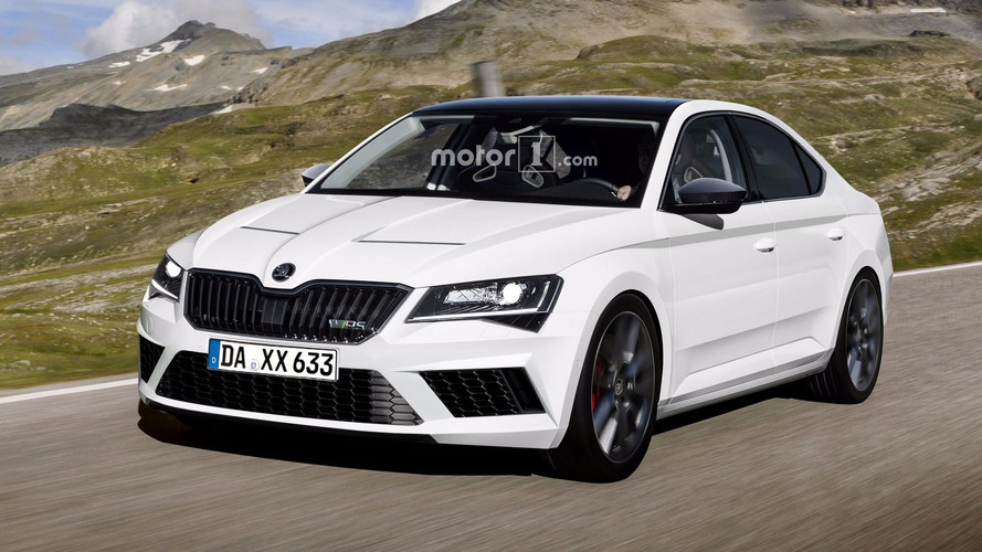 Skoda Superb RS Double Trouble: Hatch And Wagon Rendered