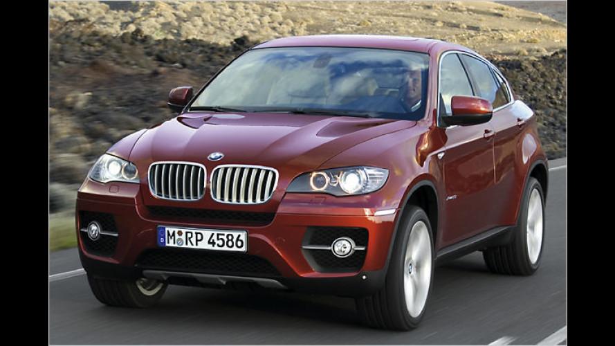 BMW X6: Das Offroad-Coupé steht in den Startlöchern