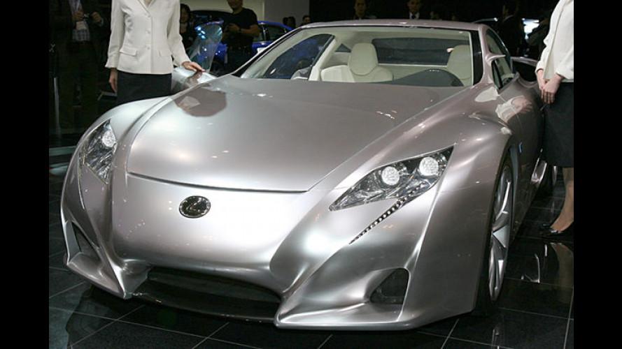 Es lebe der Sport: Lexus auf der Tokyo Motor Show 2007
