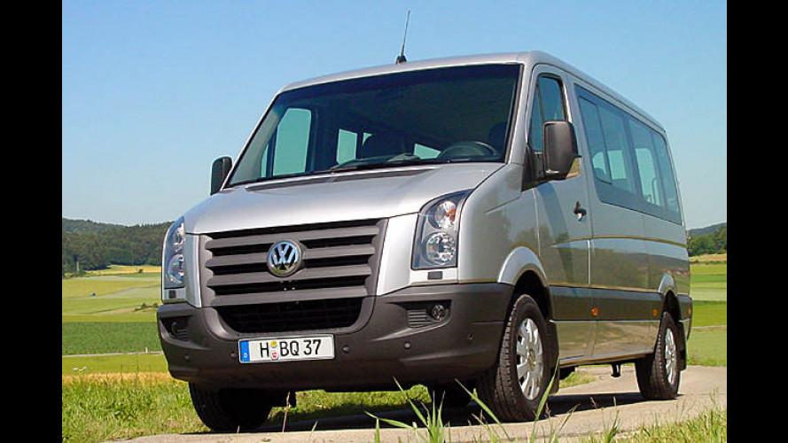 VW Crafter: LT-Erbe mit Schweinehälften-sicherem ESP