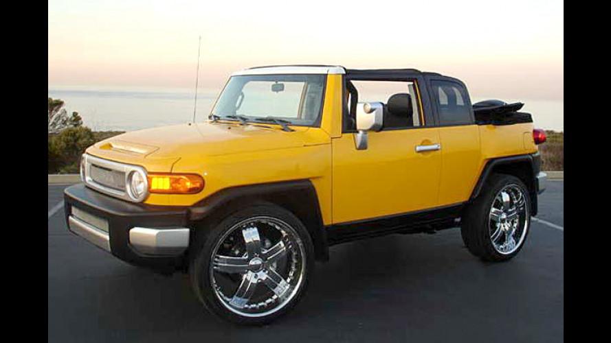 Starker Ami-Aufschnitt: Toyotas FJ Cruiser als Cabriolet