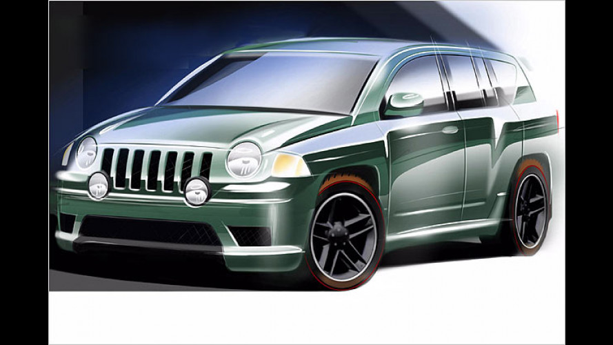 Jeep Compass Rallye (2005): Wegweiser in ein neues Segment