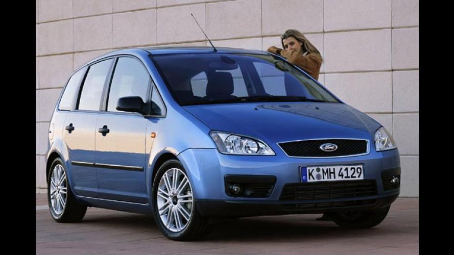 Ford Focus C-Max: Ab 2005 auch als Erdgasauto