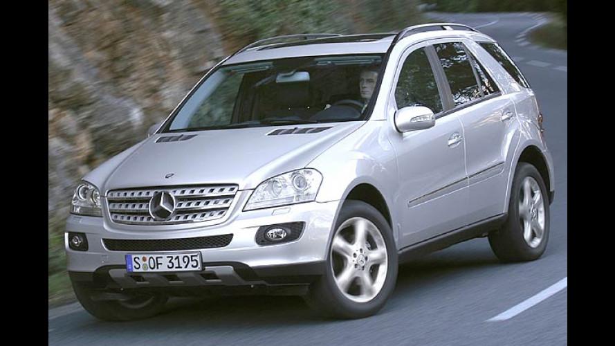 Mercedes M-Klasse: Neuer V8-Diesel ergänzt die SUV-Palette
