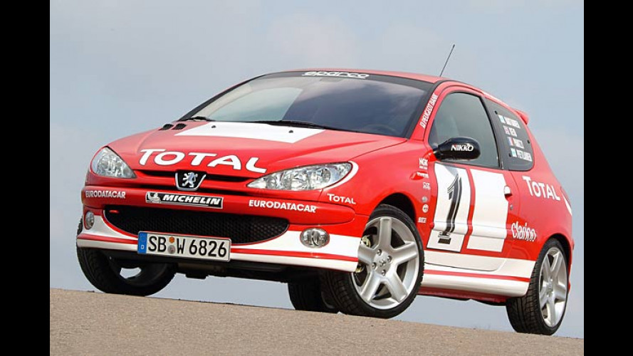 Peugeot 206 RC WRC Edition 2: Rallye-Feeling für jeden Tag