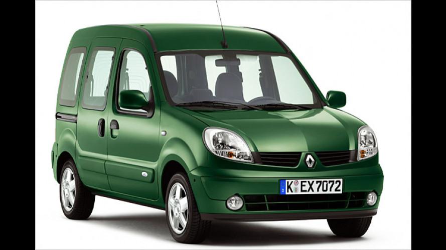 Renault Kangoo (2005): Bessere Ausstattung und mehr Diesel-PS