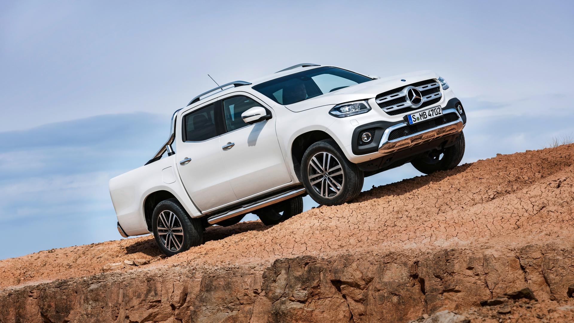 2018 Mercedes X Class Pickup Debuts With 190hp Off Road Chops