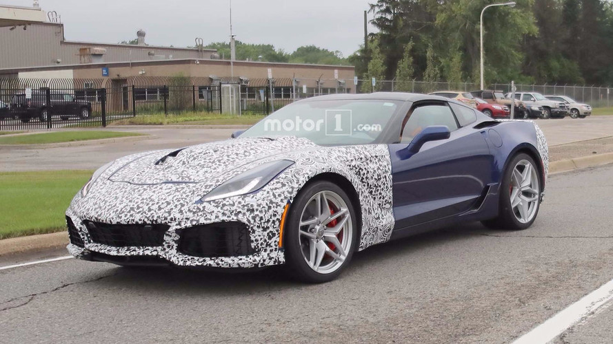 2018 Corvette ZR1 Spied In Near-Production Form With Little Camo