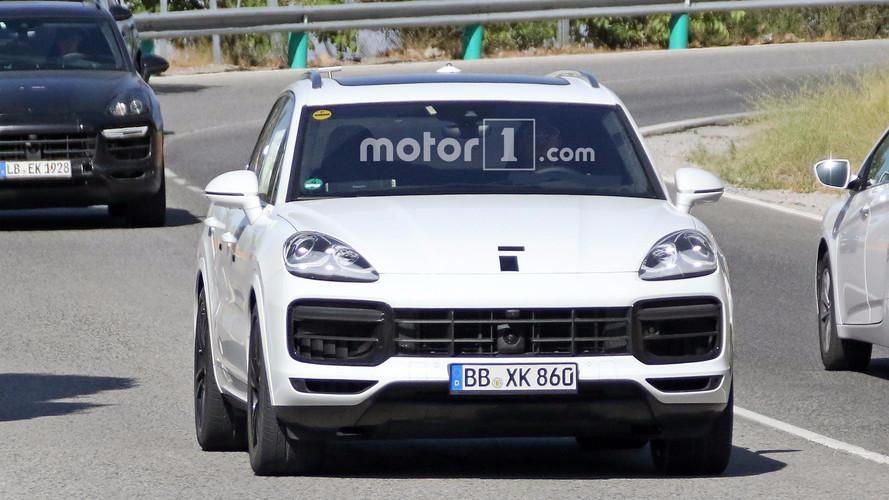 Porsche Cayenne 2018 blanco, fotos espía