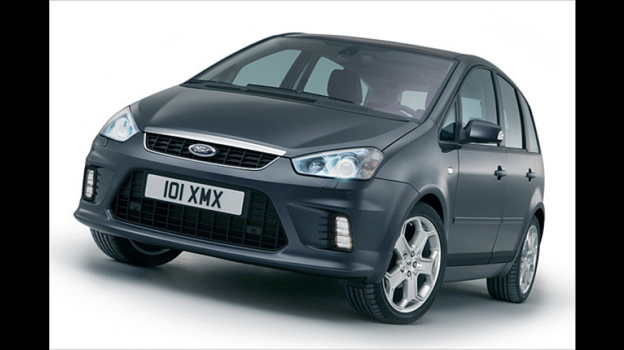 Ford: Prototyp gibt seriennahen Ausblick auf C-Max von 2007