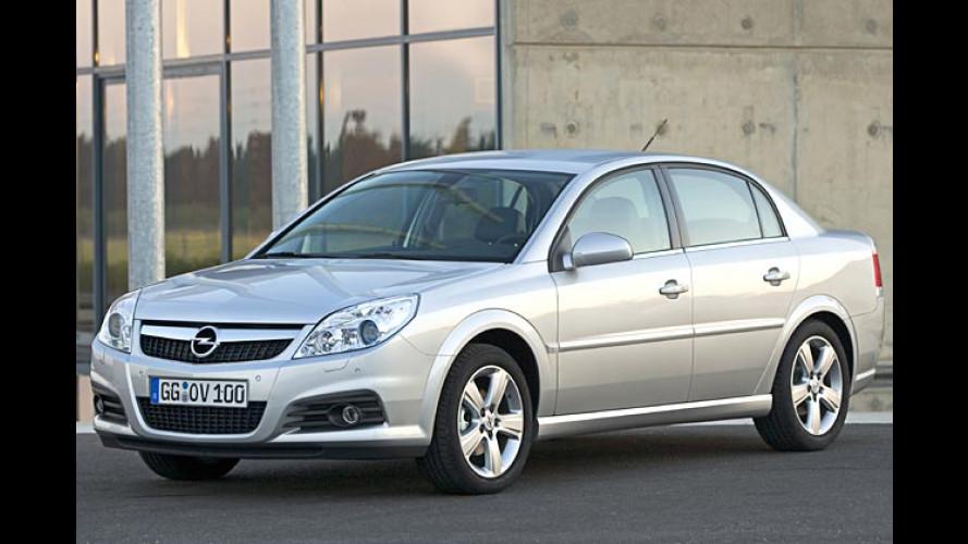 Opel putzt die Mittelklasse: Facelift für Vectra und Signum