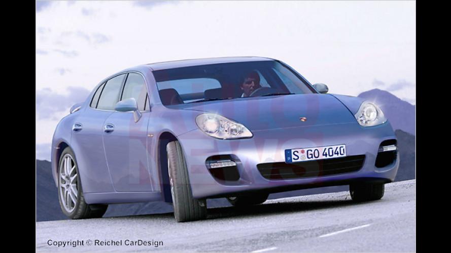 Porsche Panamera: Luxus-Limousine mit Hybrid-System