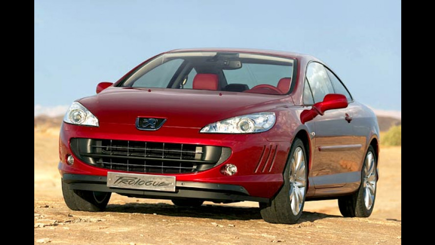 Peugeot 407 Prologue Coupé: Hingucker gibt Ausblick