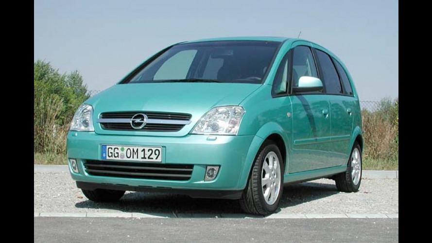 Stühlerücken bei Opel: Minivan Meriva 1.7 CDTI im Test