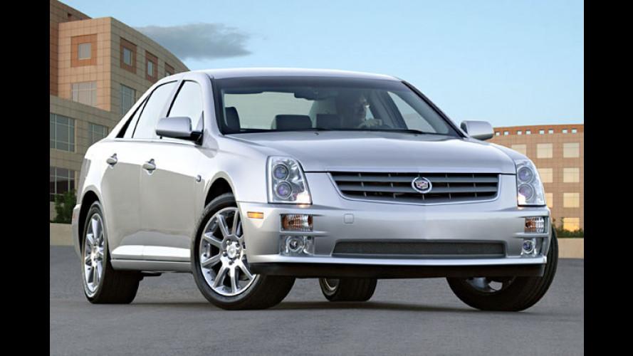 Cadillac gibt sich die Kante: STS als Nachfolger des Seville