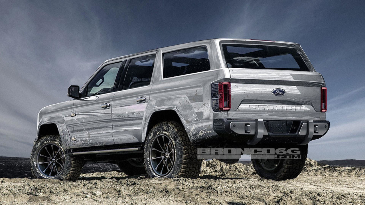 2020 Ford Bronco Rendering Photo