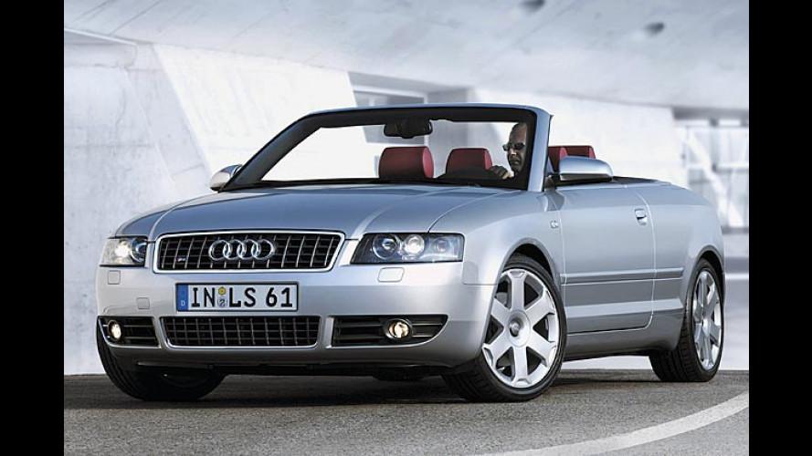 Audi: Starkes S4 Cabriolet kann ab sofort bestellt werden