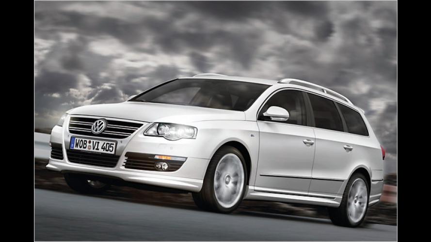 VW Passat R-Line: Extrapakete nun auch für die Mittelklasse