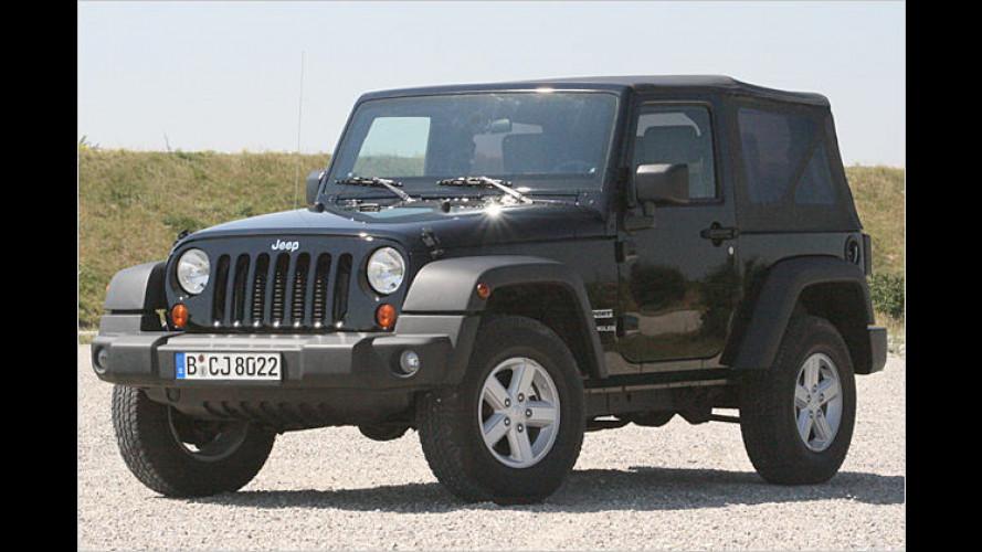 Jeep Wrangler Sport 2.8 CRD (2007) im Test: Die Freiheitsmaschine: