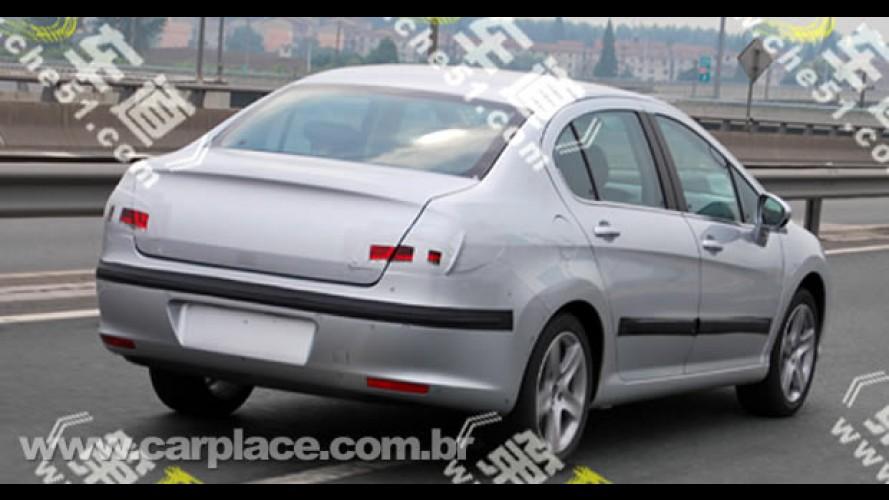 Novo Peugeot 308 Sedan chegará ao Brasil no segundo semestre de 2010