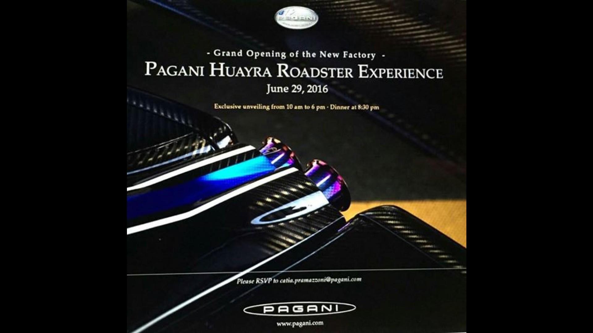 Pagani Huayra Roadster kapalı kapılar ardında tanıtıldı