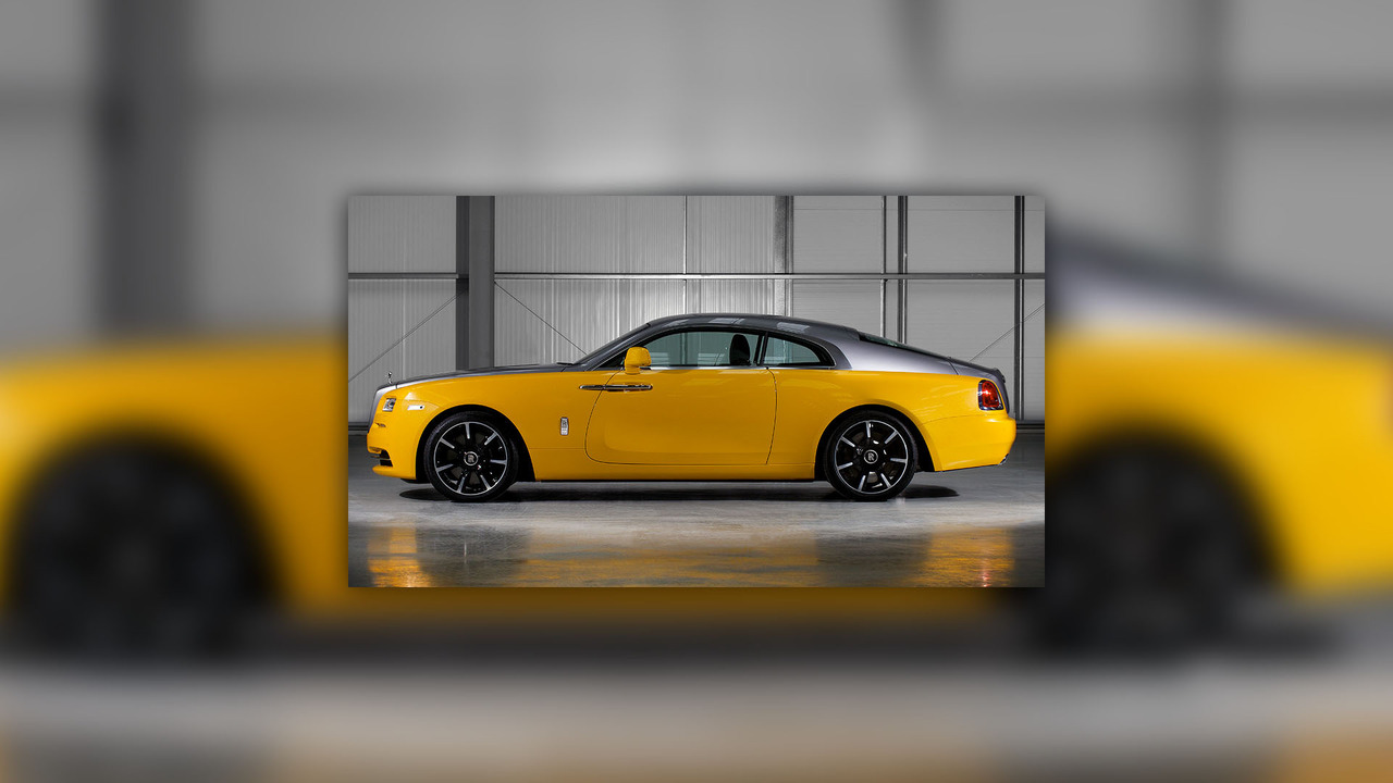 Rolls Royce Wraith Golden Yellow Motor1 Com Photos