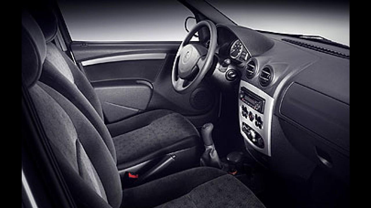 Renault Logan 2008 - Sedã popular começa ser vendido em julho