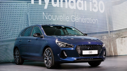 2017 Hyundai i30 Paris Motor Show