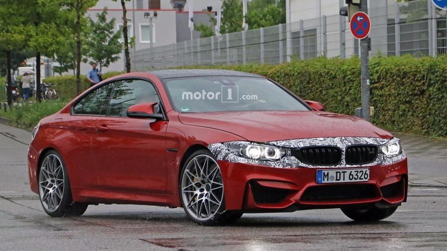 Photos espion - La BMW M4 restylée et un prototype plus puissant vus d'un peu plus près