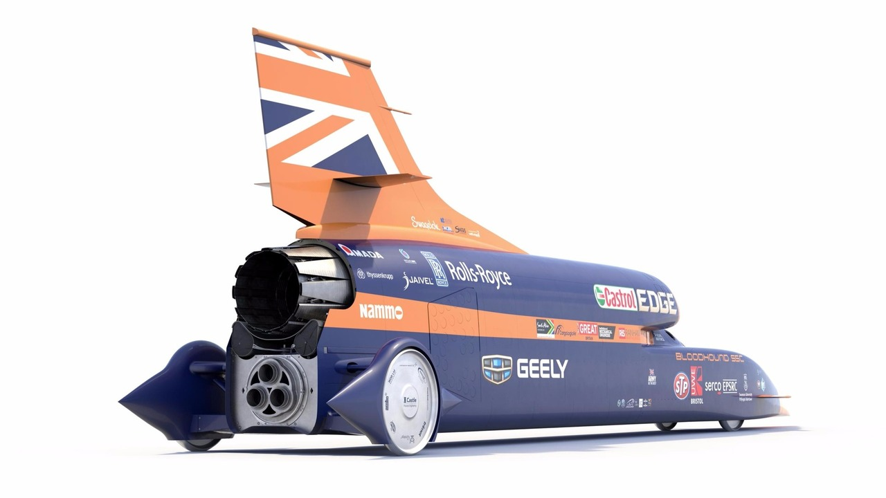 Bloodhound SSC - Geely deal