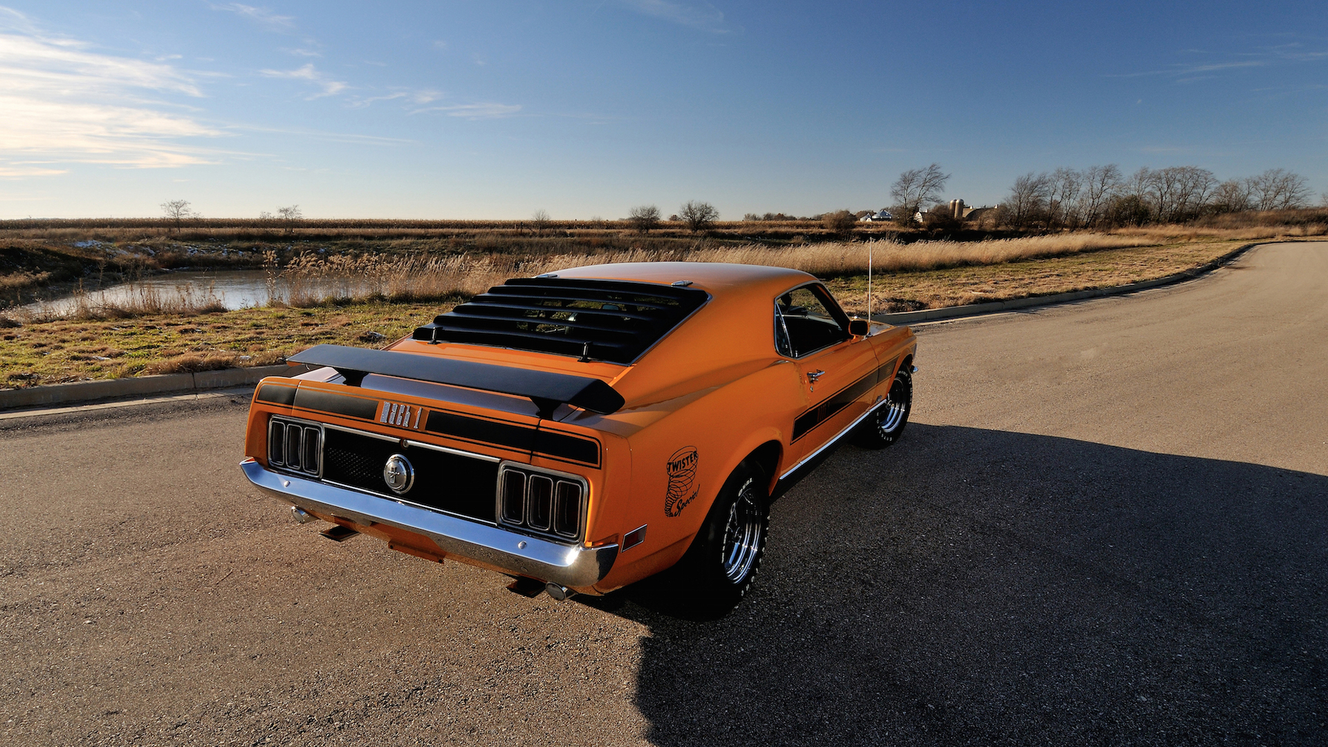 If Theres A Mustang To Own Its This Super Cobra Jet Mach 1 1970 Ford Twister Special