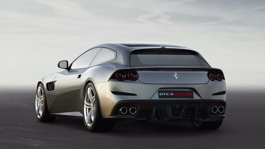 Ferrari GTC4Lusso T at 2016 Paris Motor Show