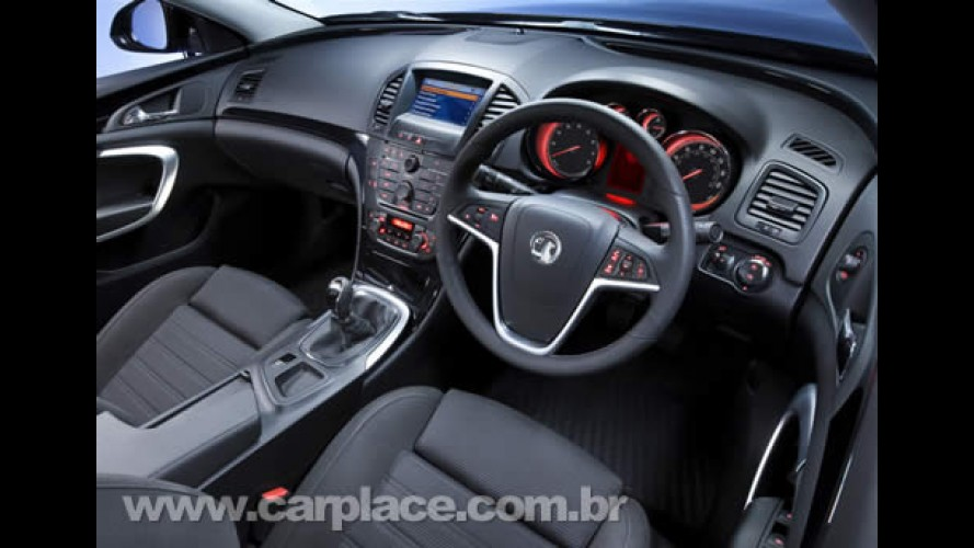 Sucessor do Vectra europeu - Vauxhall divulga novas fotos e interior do Insignia