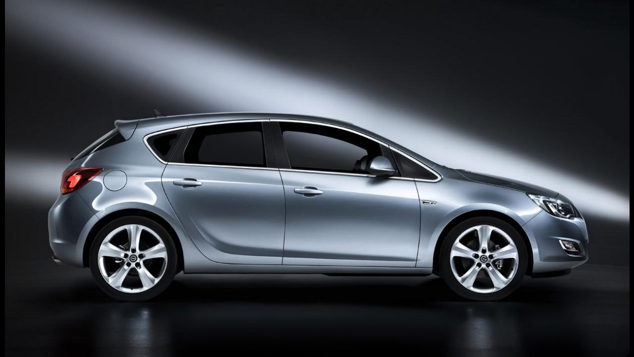 Nuova Opel Astra: interni e design