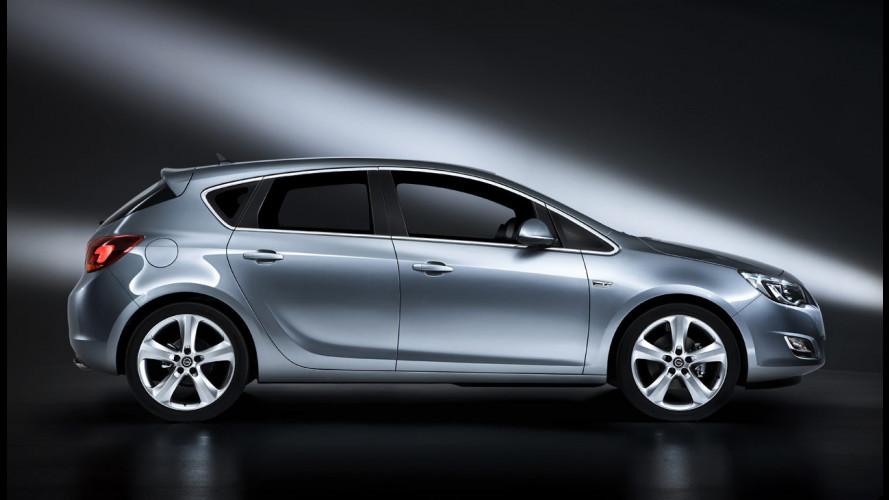 Nuova Opel Astra: gli interni