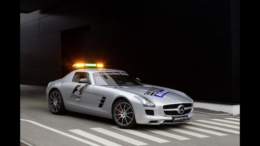 Mercedes SLS AMG F1 Safety Car 2012