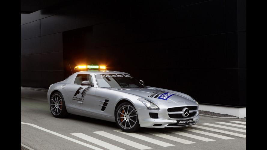 Mercedes SLS AMG F1 Safety Car 2012