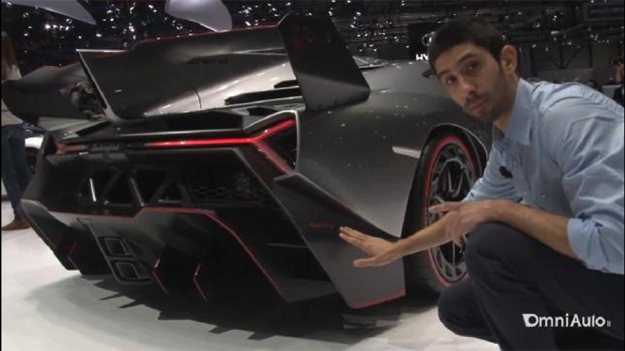 Salone di Ginevra: Lamborghini Veneno - video LIVE