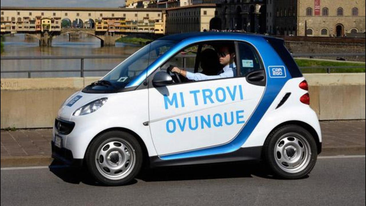 [Copertina] - Car sharing, dopo l'errore car2go regala 30 minuti di guida