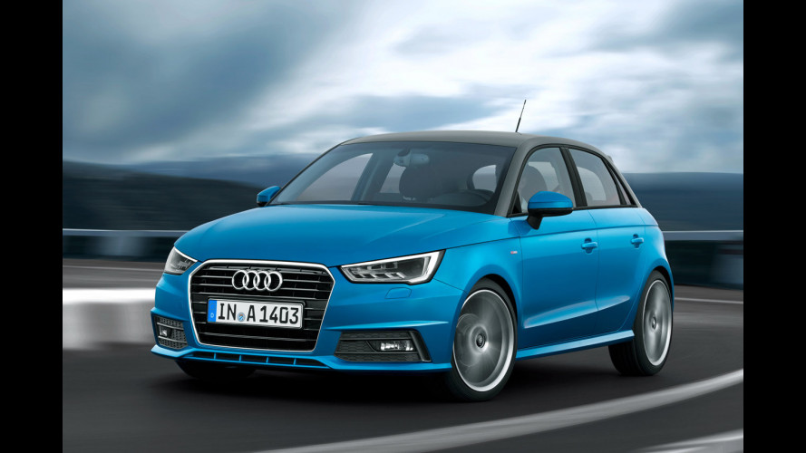 Audi A1 restyling, prezzi da 20.300 euro