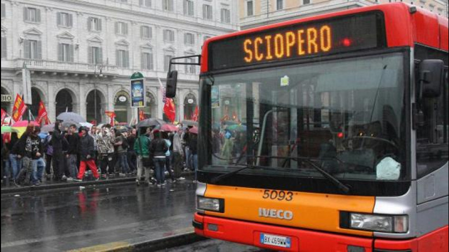 Sciopero trasporti venerdì 12 dicembre, info città per città