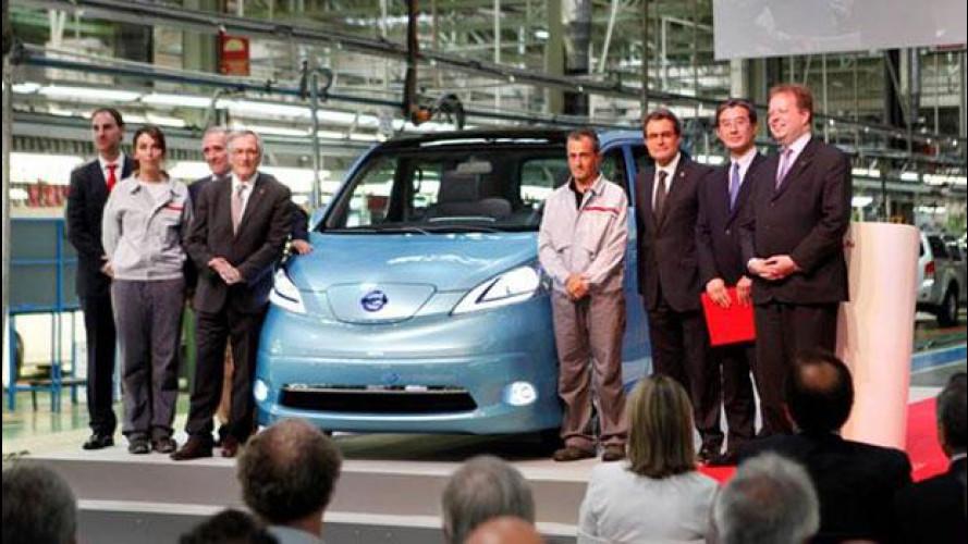 Nissan crea in Spagna oltre 700 nuovi posti di lavoro