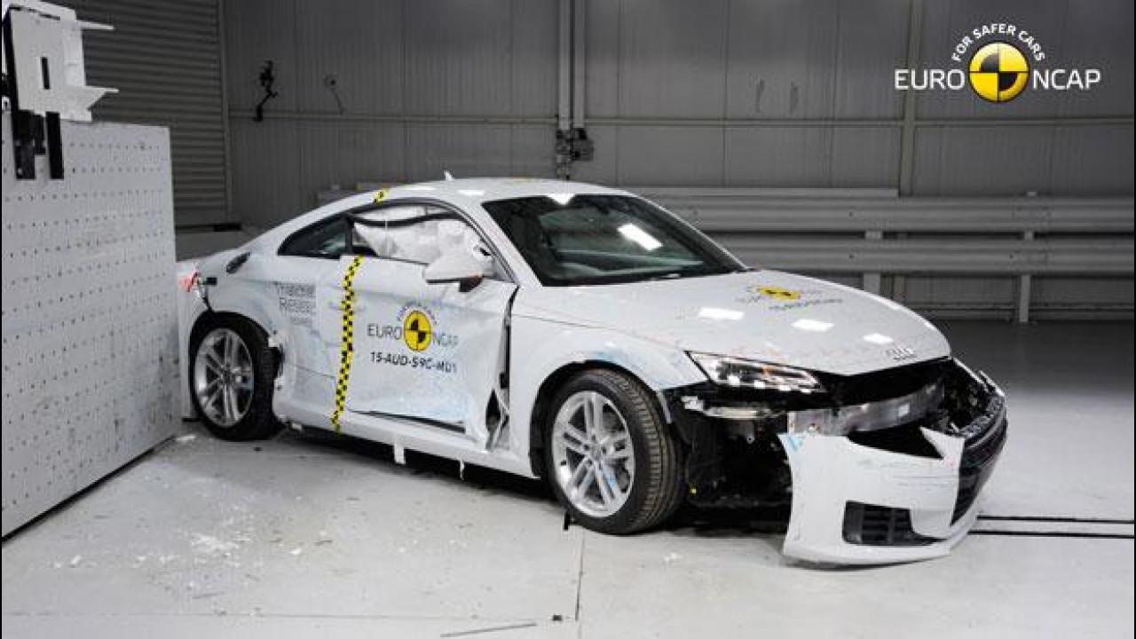[Copertina] - Nuova Audi TT Coupé, quattro stelle Euro NCAP con le nuove regole